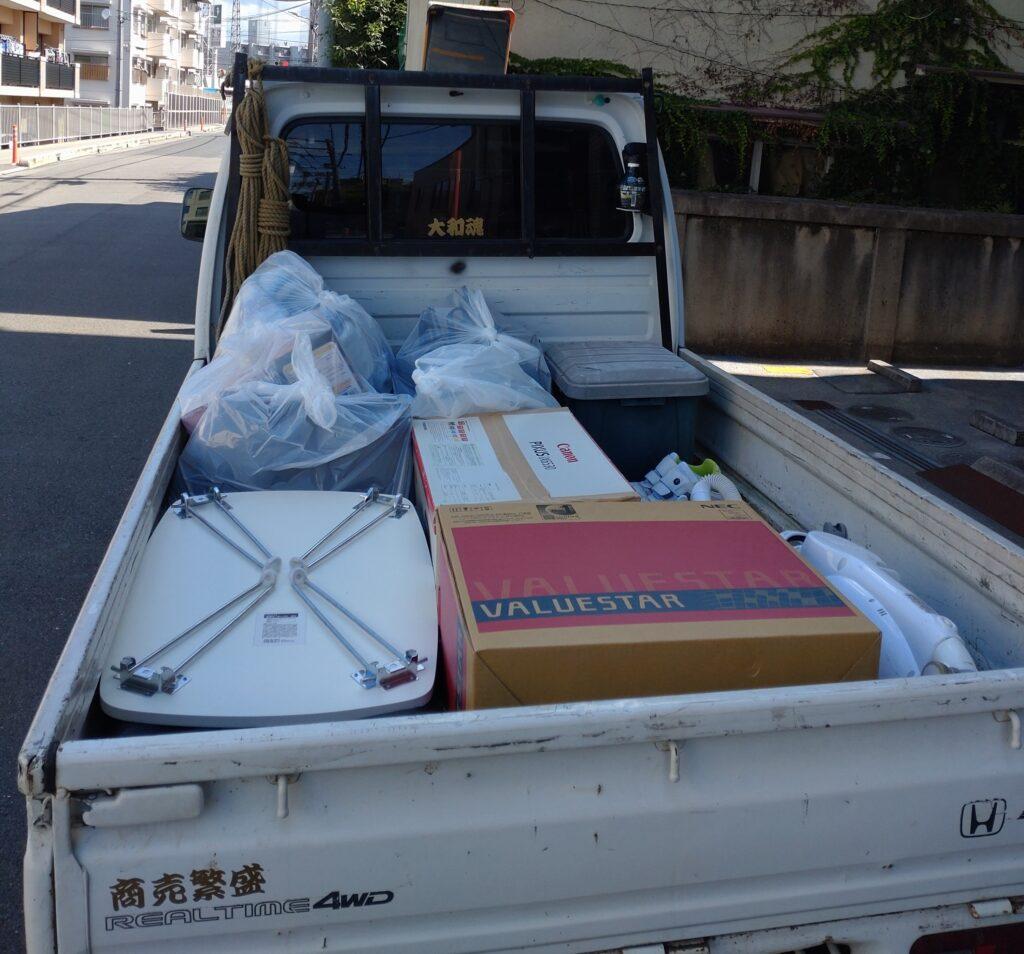 中区吉島東・引っ越し前不用品回収